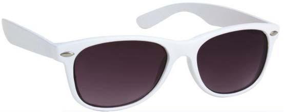 Katy Perry Style White Frame Wayfarer Celebrity Sunglasses