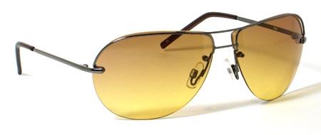 Christian Dior Designer Style Oversized Aviator Sunglasses