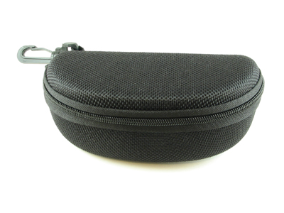 Extra Large Canvas Zippered Sunglass Case with Belt Hook