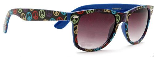 Ray-Ban Style Wayfarer Peace Sunglasses