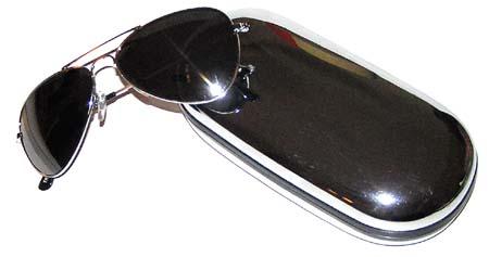 Rogue Trooper Mirrored Aviator Sunglasses