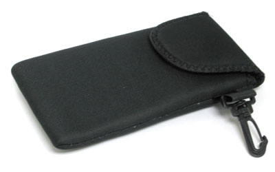 Neoprene Sunglass Case with Belt Hook and Velcro Enclosure