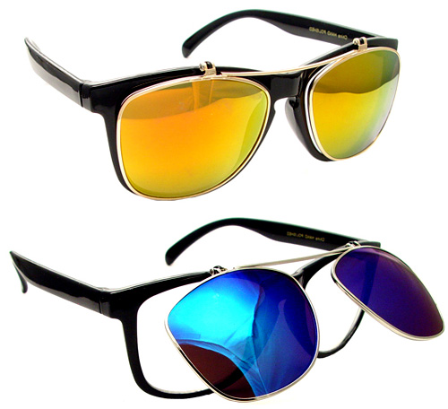 Walter Sherman The Finder TV Show Flip Up Sunglasses